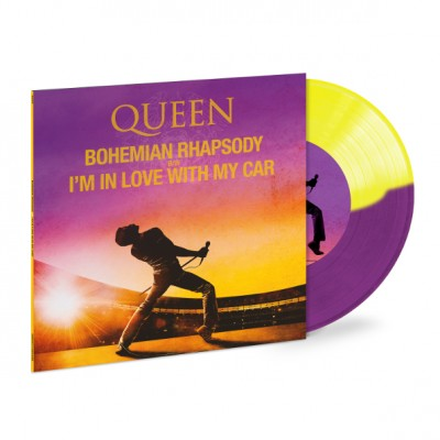 Queen ‎– Bohemian Rhapsody Single Purple Yellow Record Store Day 2019