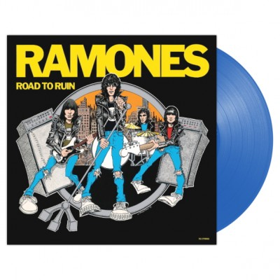 Ramones - Road To Ruin LP Blue Vinyl 2019 40th Anniversary Reuuse