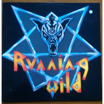 Running Wild ‎– Victim Of State Power EP Blue Vinyl 2014 Reissue