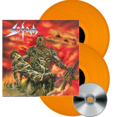 Sodom - M-16 2LP+CD Orange Vinyl Ltd Ed