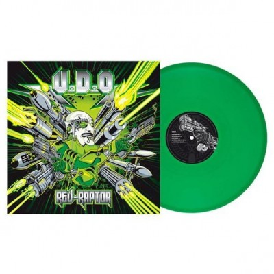 U.D.O. ‎– Rev-Raptor LP Gatefold Green Clear Vinyl